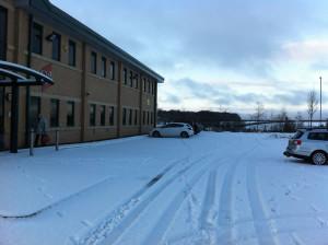 Snow at Grange Moor