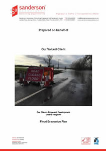 Flood Evacuation Plan