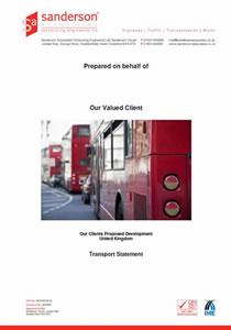 Transport Statement