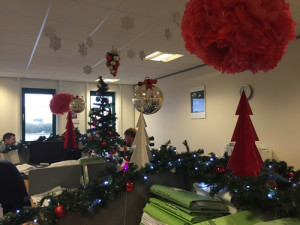 Christmas Office Desk Decorating Competition Update Sanderson